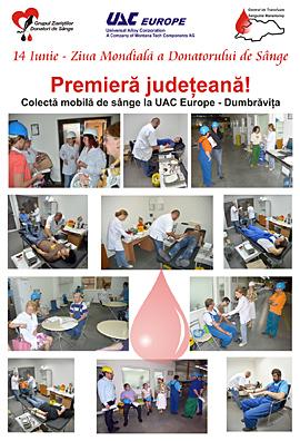 Centrul de transfuzie sanguina Maramures