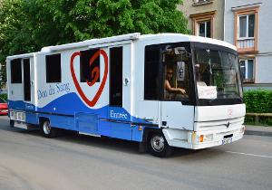 Autobuz de prelevare a sângelui