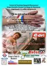 Campanie donare sange 2008